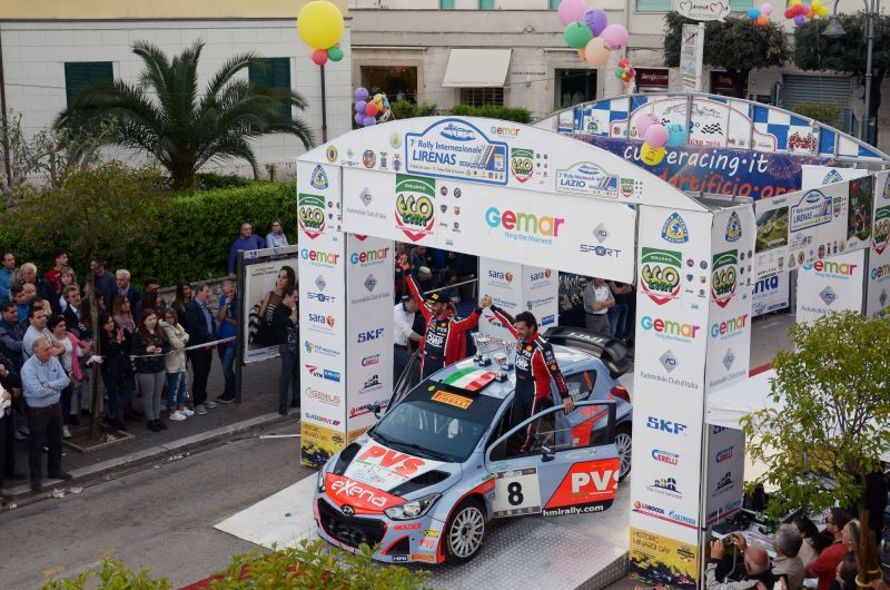 "Positive result for ""Pedro"" at the 7th Rally Internazionale Lirenas."