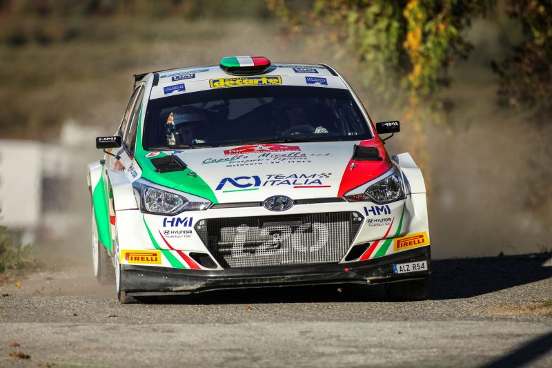 HMI - Hyundai Italian Rally Team for the first time in full force at the 2016 Monza Rally Show