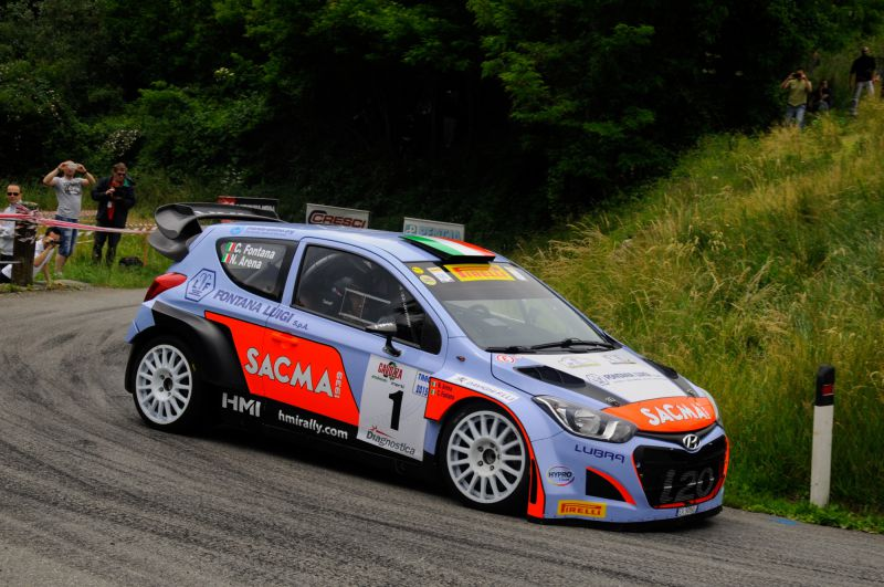 HMI takes on the International Rally Cup with 2 Hyundai i20 WRC