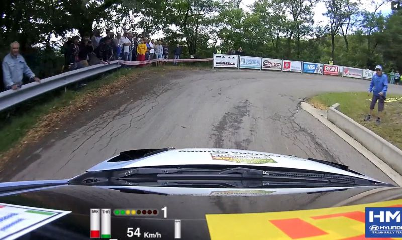 HMI - Rally Casentino - Fontana Onboard with Data