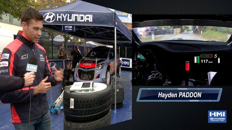"Hayden Paddon ""Legend and Fun""...  HMI - Hyundai Italian Rally Team"